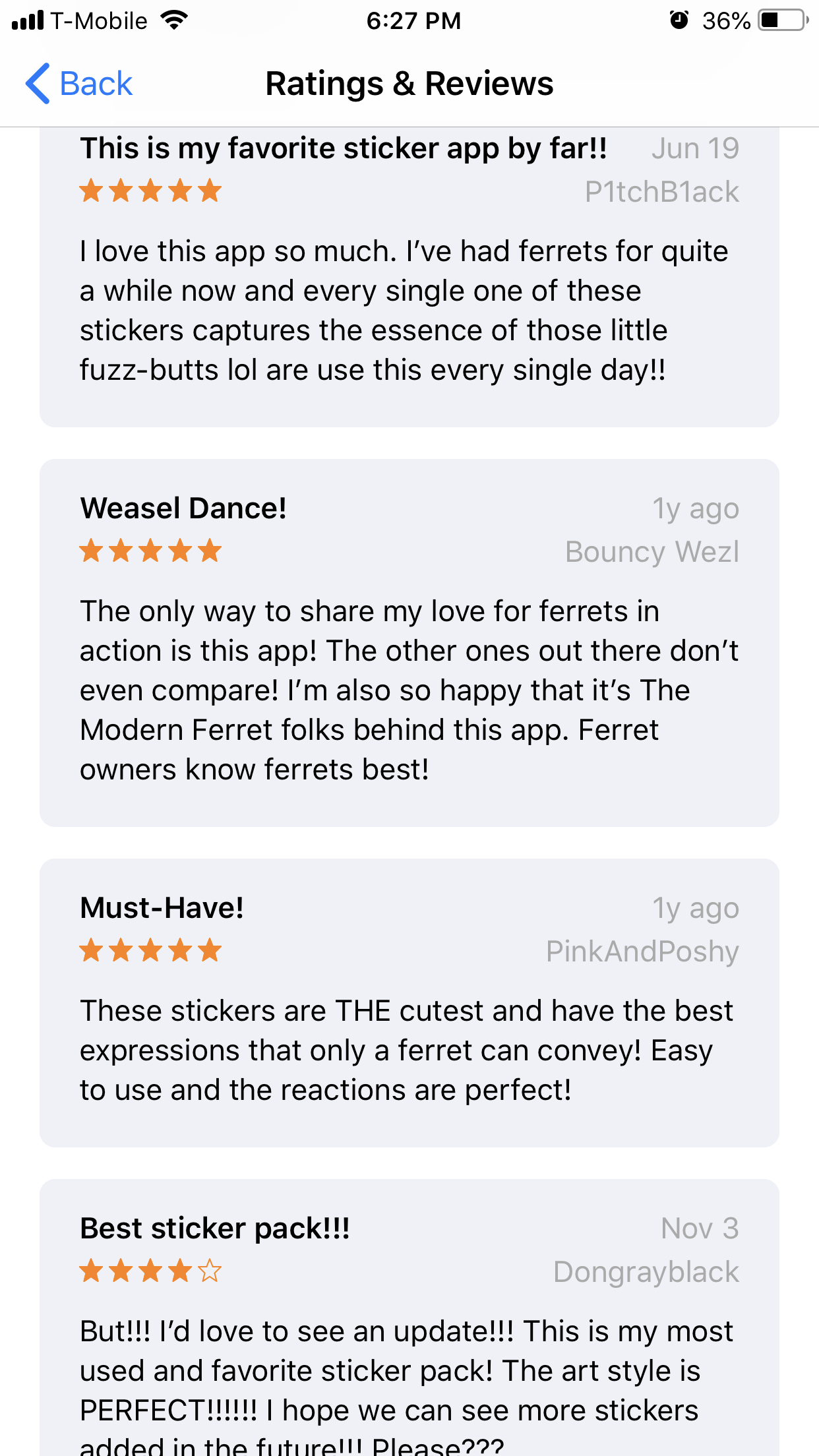 ferret emoji best reviews
