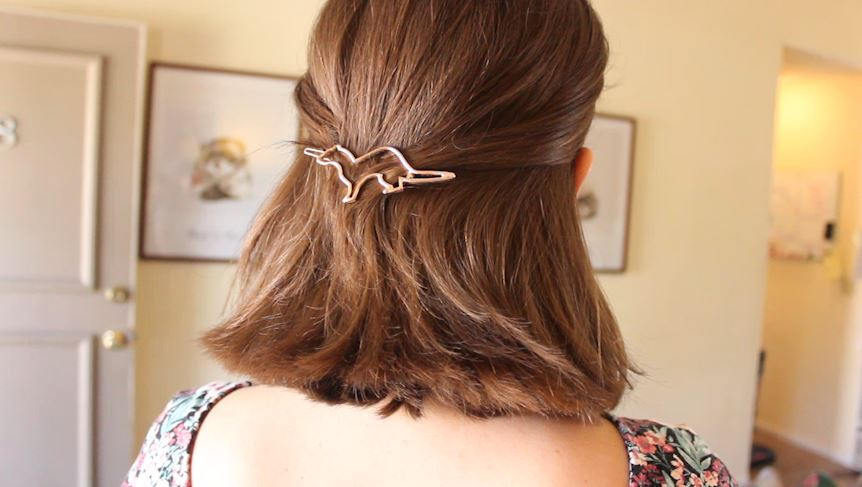 ferret birthday hair clip gift